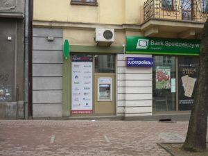 Superpolisa Placówka Partnerska – Bank Spółdzielczy w Rymanowie – Filia Jasło