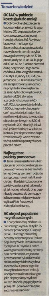 """""""To warto wiedzieć"""" – Głos Wielkopolski"""