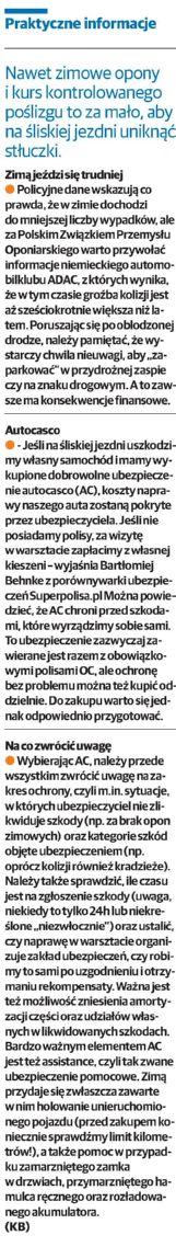 """""""Praktyczne informacje"""" – Głos Szczeciński"""