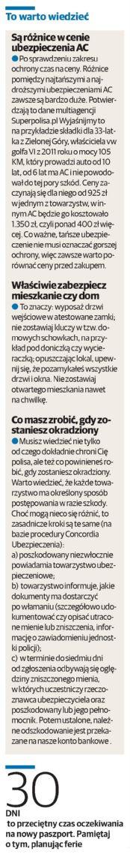 """""""To warto wiedzieć"""" – Głos Szczeciński"""