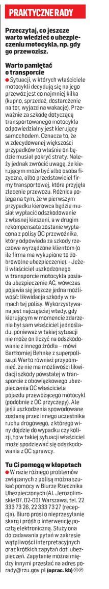 """""""Praktyczne rady"""" – Gazeta Współczesna"""