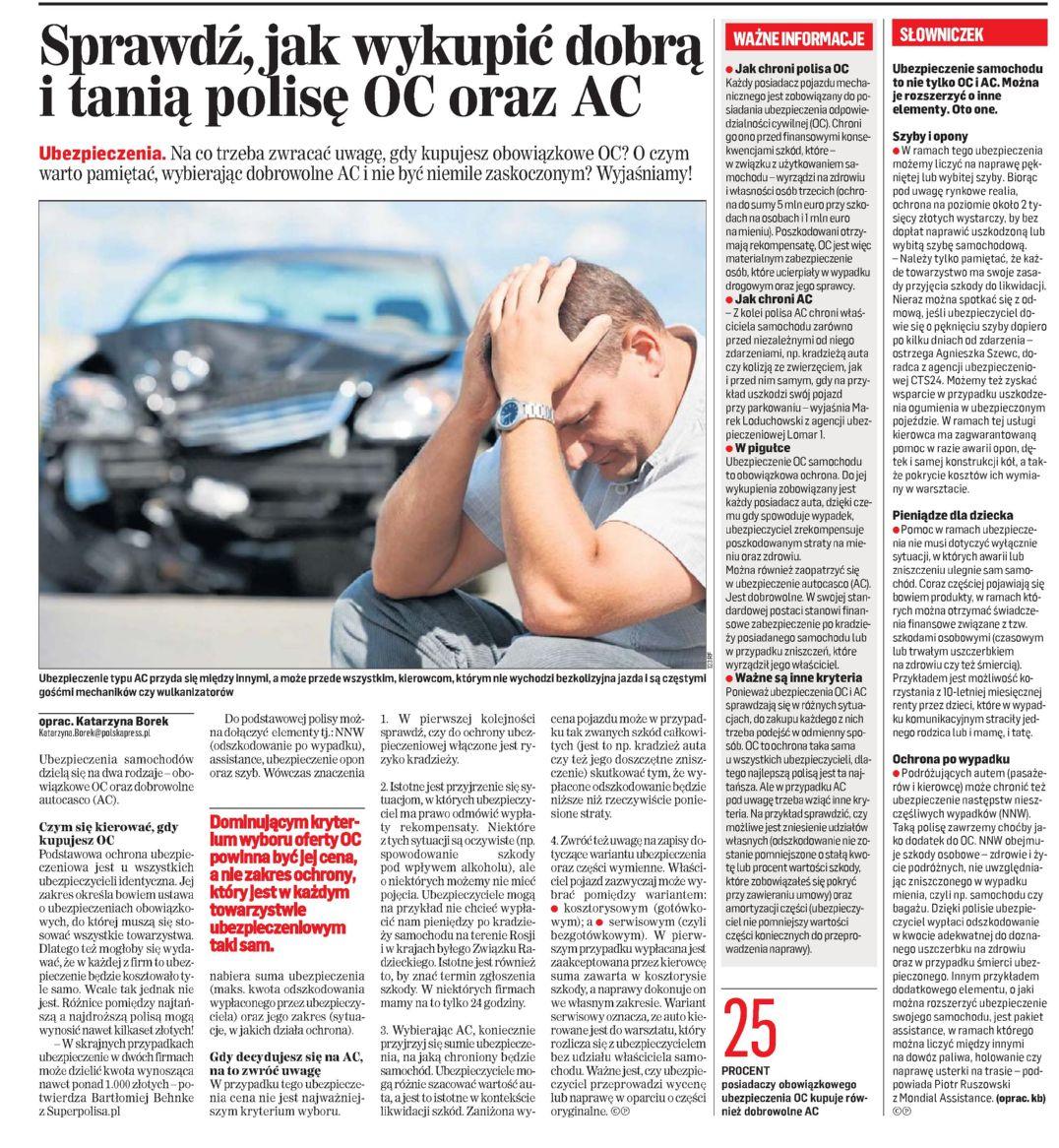 """""""Sprawdź, jak wykupić dobrą i tanią polisę OC oraz AC"""" – Gazeta Współczesna"""