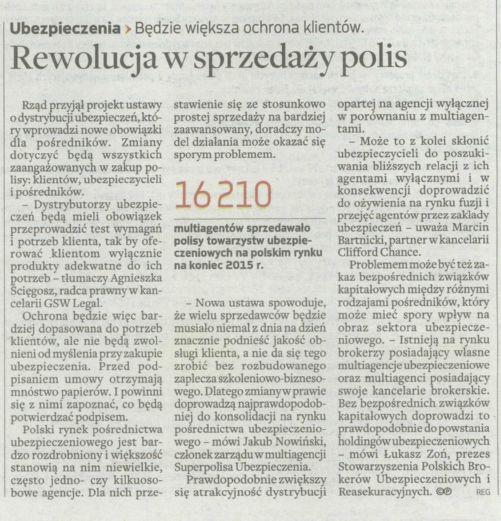 Rewolucja w sprzedaży polis